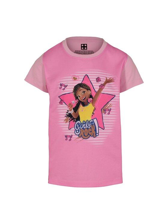 LEGO Wear LEGO Wear T-Shirt Friends 51302 22516 Różowy Regular Fit