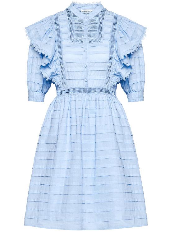 Silvian Heach Silvian Heach Sukienka letnia Kenzie PGP21129VE Niebieski Regular Fit