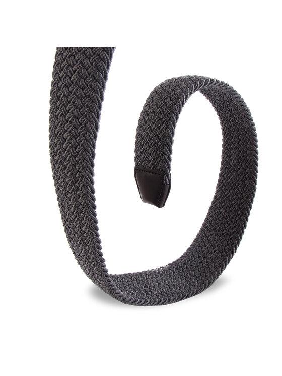 Tommy Hilfiger Tommy Hilfiger Pánský pásek Denton Elastic Belt 3.5 AM0AM04480 Šedá