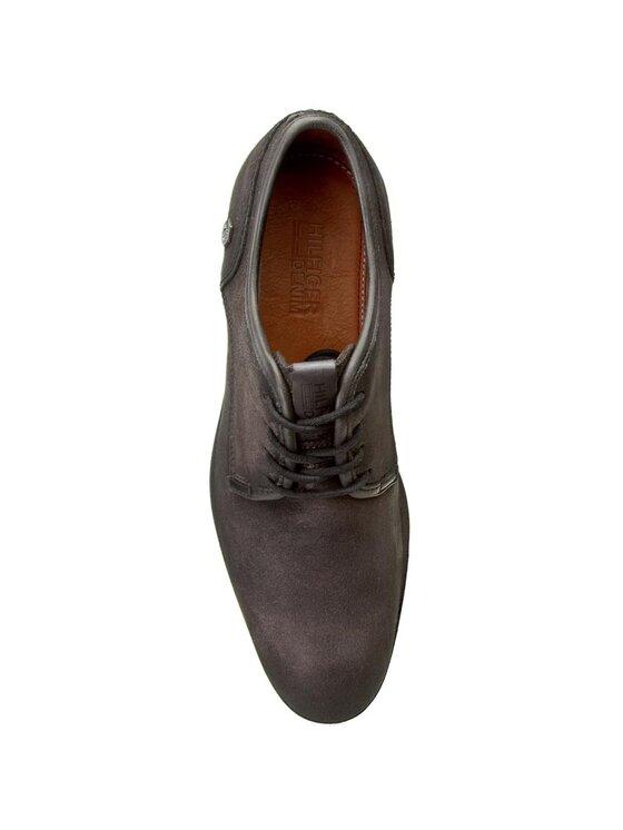 Tommy Hilfiger Tommy Hilfiger Pantofi DENIM Jack 2C EM56821832 Negru