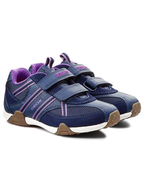 Geox Geox Chaussures basses J Tale B J5221B 01122 C4002 Bleu marine