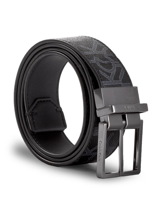 Calvin Klein Calvin Klein Cintura da uomo Greg Mono Rev. Adj. K50K503267 85 Nero