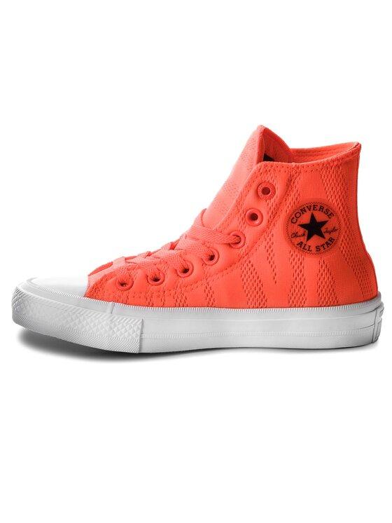 Converse Converse Plátěnky Ctas II Hi 155492C Oranžová