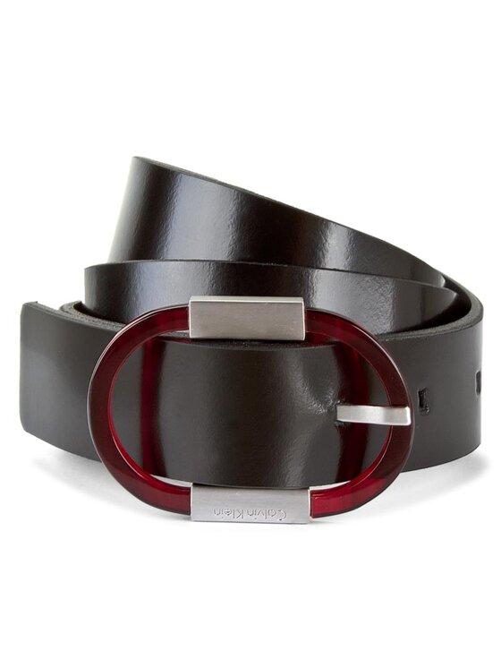 Calvin Klein Calvin Klein Moteriškas Diržas Marly Round Belt K60K602327 75 Juoda