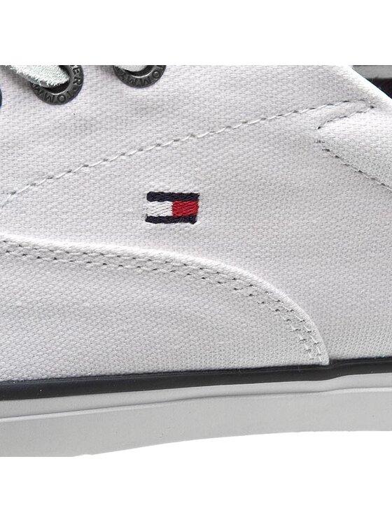TOMMY HILFIGER TOMMY HILFIGER Sneakers aus Stoff Wilkes 2C FM56820991 Weiß