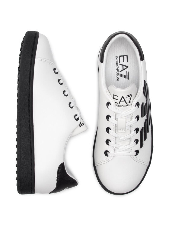 EA7 Emporio Armani EA7 Emporio Armani Sneakersy XSX006 XCC53 B139 Biały