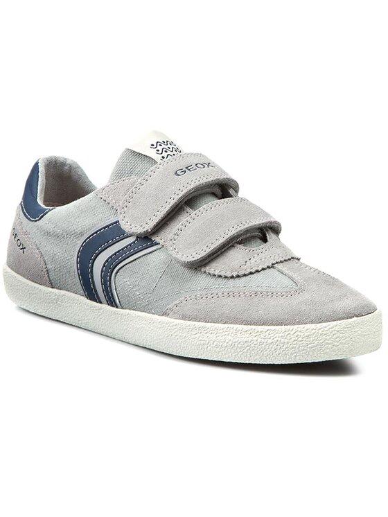 Geox Geox Обувки J Kiwi B. M J52A7M 01022 C0665 Сив