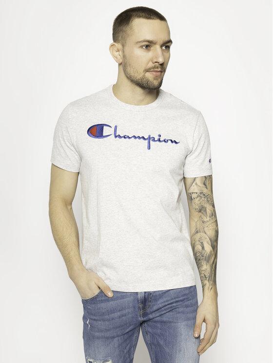 Champion Champion T-Shirt 210972 Szary Regular Fit