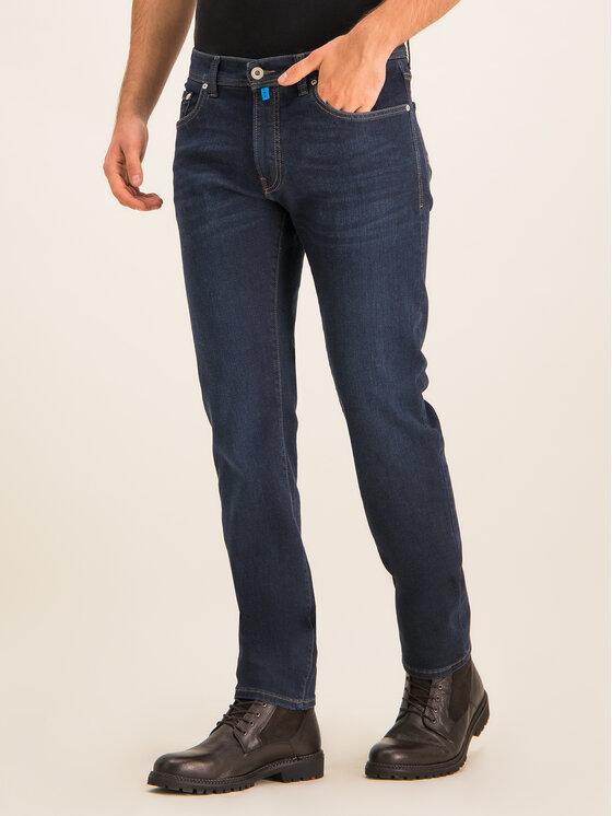 Pierre Cardin Pierre Cardin Slim Fit Jeans 3451 Dunkelblau Lyon Tapered
