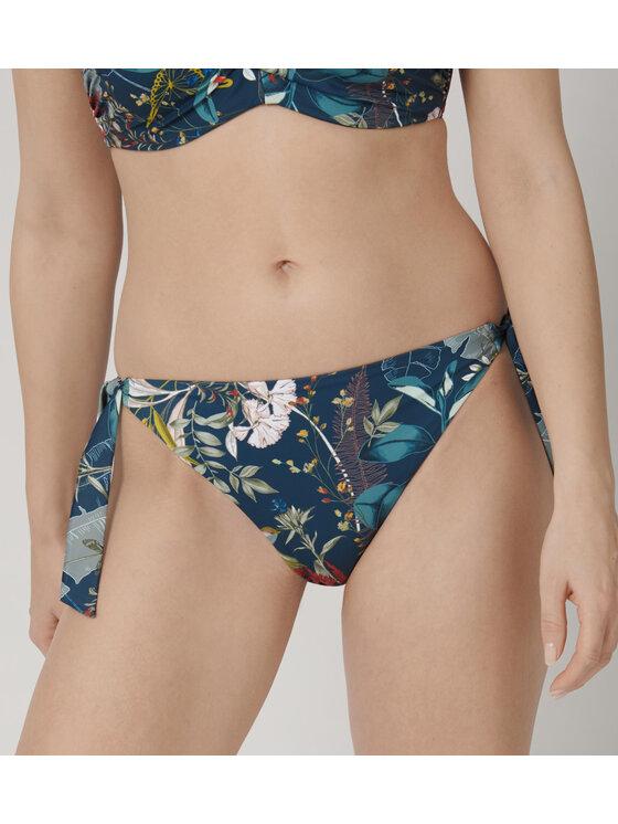 Triumph Bikinio apačia Botanical Leaf 10207924 Tamsiai mėlyna