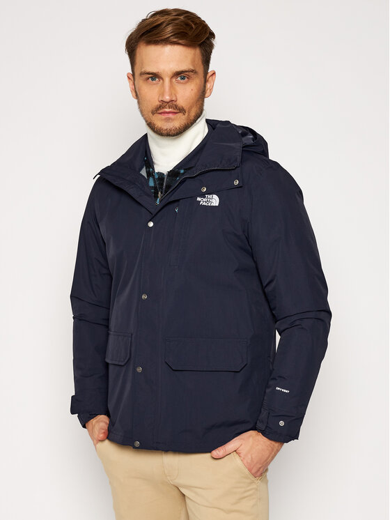 The North Face Daugiafunkcinė striukė Pinecfort Triclimate NF0A4M8ETE81 Tamsiai mėlyna Regular Fit