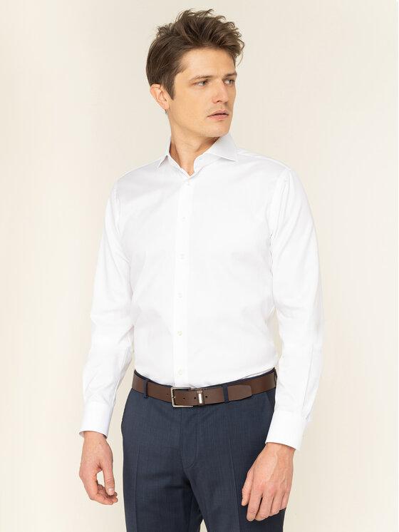 Emanuel Berg Marškiniai HV37 Balta Modern Fit