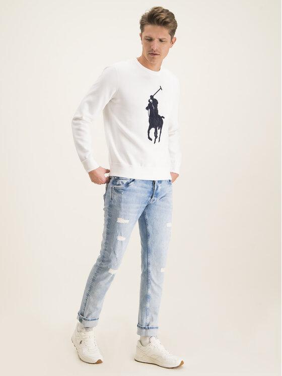Polo Ralph Lauren Polo Ralph Lauren Sweatshirt 710766862011 Blanc Regular Fit