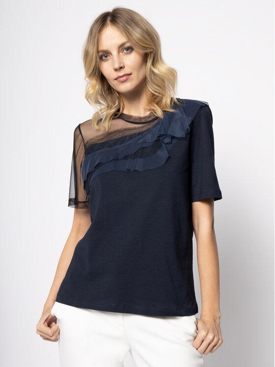 MAX&Co. MAX&Co. T-Shirt Dami 69719520 Granatowy Regular Fit