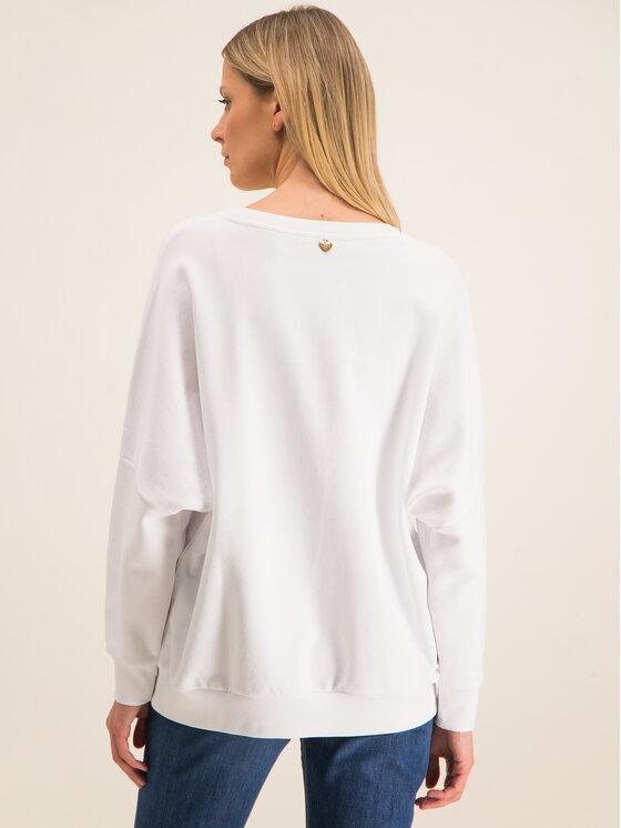 TwinSet TwinSet Sweatshirt 201TP2083 Blanc Oversize
