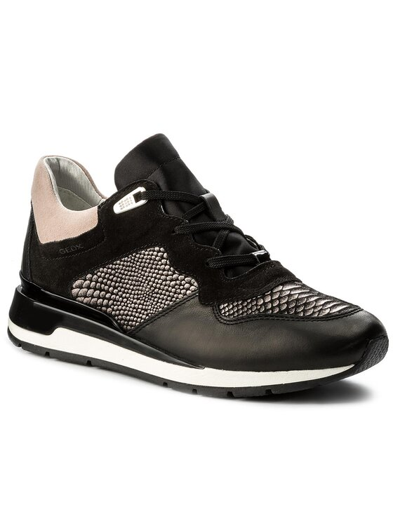 Geox Geox Sneakersy D Shahira B D62N1B 085DC C9999 Czarny