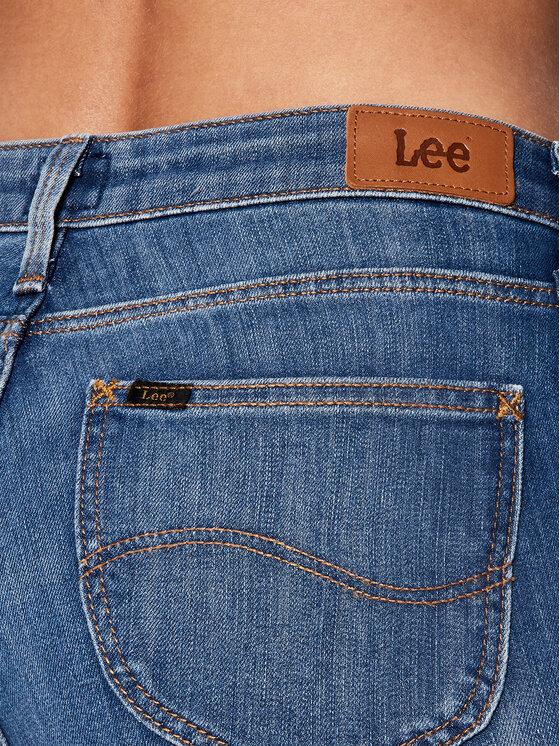 Lee Lee Jeansy Skinny Fit Scarlett Cropped L30CPFYO Niebieski Skinny Fit