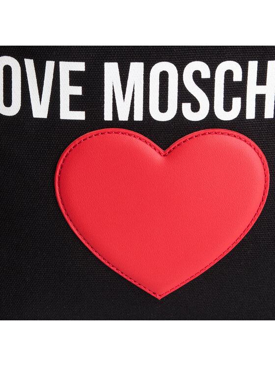 LOVE MOSCHINO LOVE MOSCHINO Дамска чанта JC4333PP07KV100A Черен