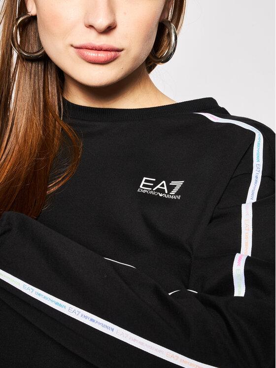 EA7 Emporio Armani EA7 Emporio Armani Džemperis 3HTM32 TJ39Z 1200 Juoda Regular Fit