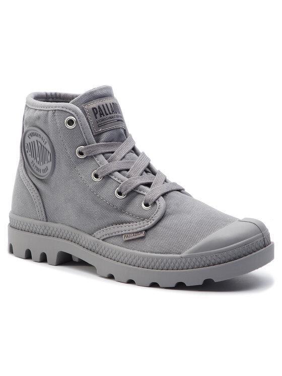 Levně Palladium Turistická obuv Pampa Hi 92352-011-M Šedá