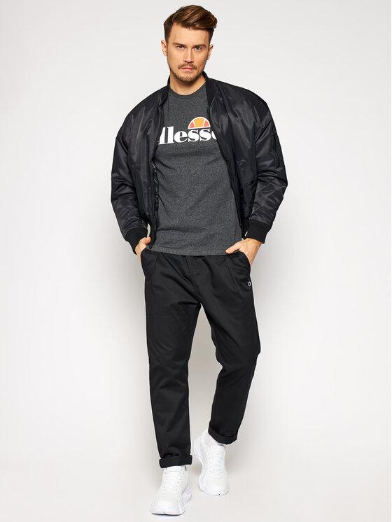 Ellesse Ellesse T-Shirt Sl Prado SHC07405 Szary Regular Fit