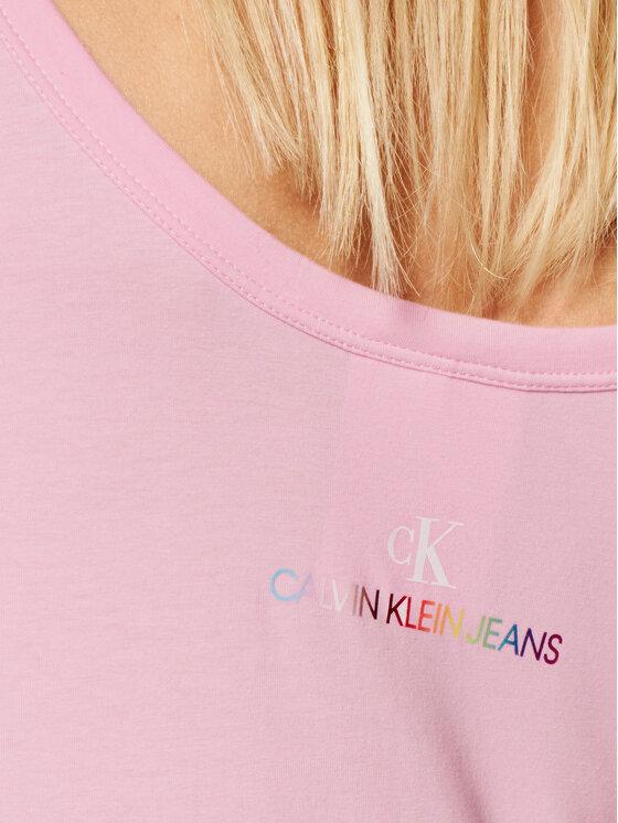 Calvin Klein Jeans Calvin Klein Jeans Боди Pride J20J217198 Розов Slim Fit