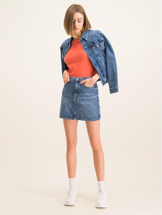 Calvin Klein Calvin Klein Bluse K20K201511 Orange Regular Fit