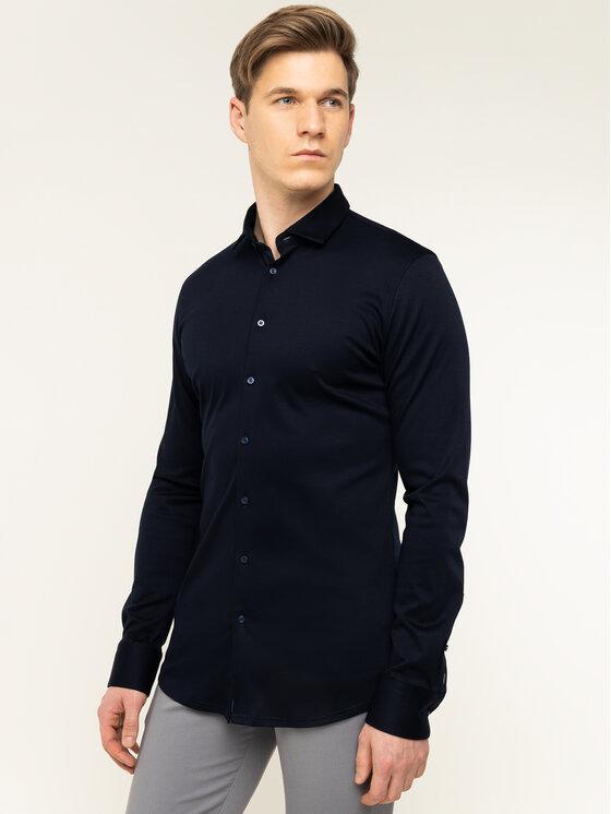 Digel Marškiniai 1297058 Tamsiai mėlyna Extra Slim Fit