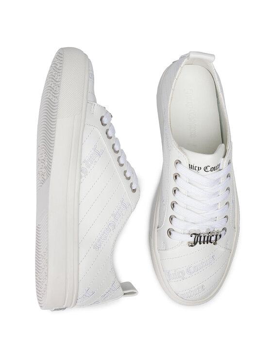 Juicy Couture Black Label Juicy Couture Black Label Sneakersy Patricia B4JJ220 Biały