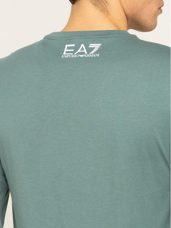 EA7 Emporio Armani EA7 Emporio Armani Longsleeve 3HPT11 PJ02Z 1858 Πράσινο Regular Fit