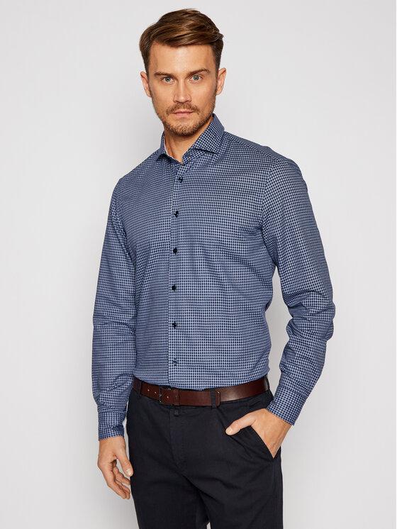 Baldessarini Marškiniai Henry 10003/000/1005 Tamsiai mėlyna Regular Fit