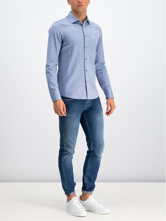 Emporio Armani Emporio Armani Koszula 6G1CP5 1NISZ 0920 Niebieski Regular Fit