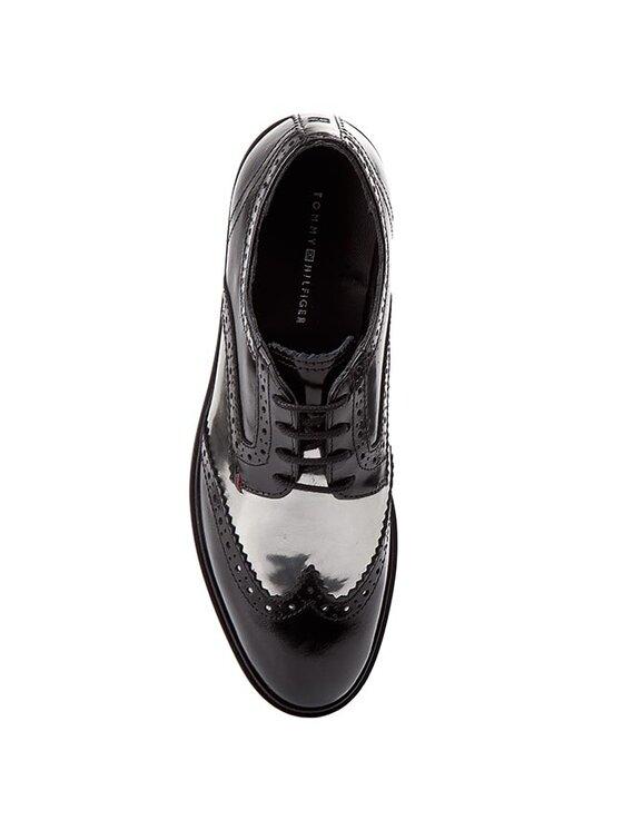 Tommy Hilfiger Tommy Hilfiger Oxford cipők Beritt 4A FW56819633 Fekete