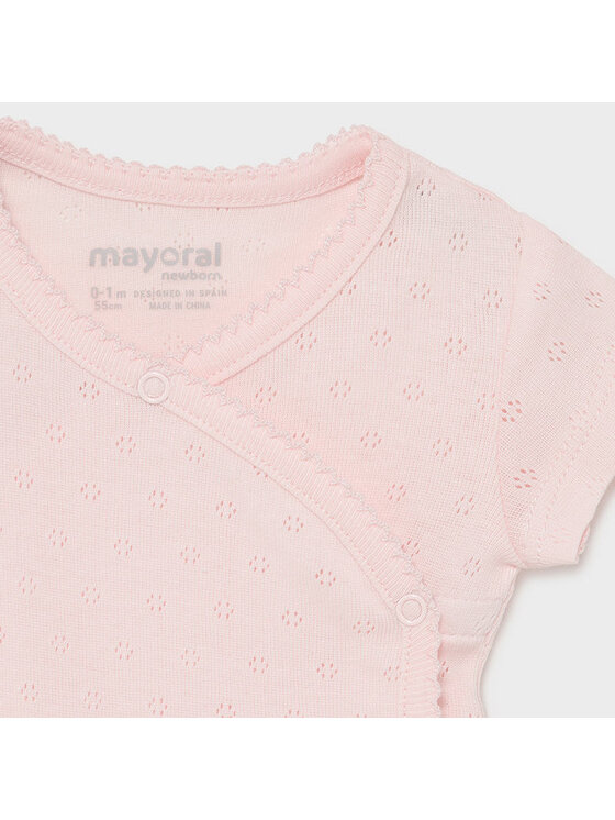 Mayoral Mayoral Body dziecięce 191 Różowy