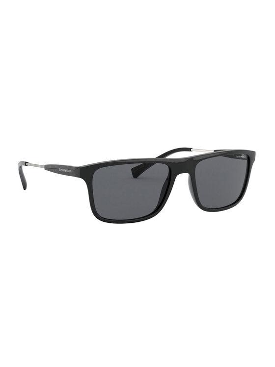 Emporio Armani Okulary przeciwsłoneczne 0EA4151 500187 Czarny