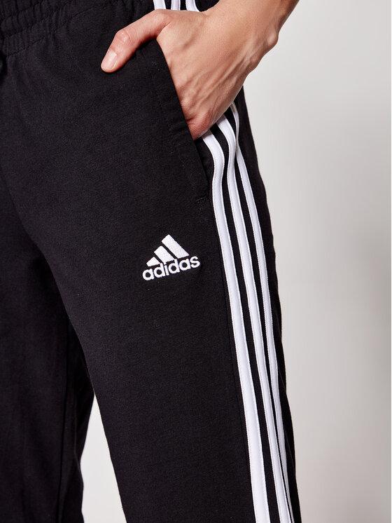 adidas adidas Donji dio trenerke 3-Stripes GM5542 Crna Slim Fit
