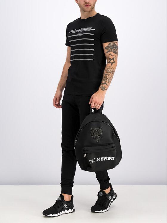 Plein Sport Plein Sport T-shirt F19C MTK3708 SJY001N Noir Regular Fit
