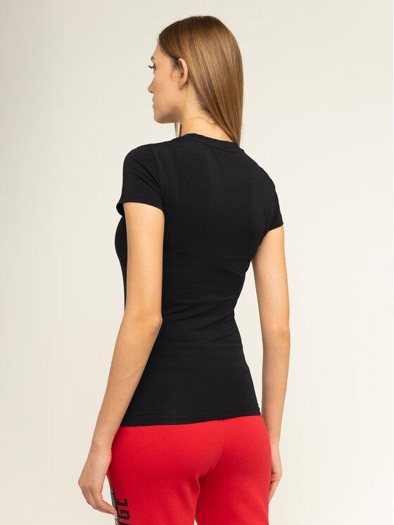 Armani Exchange Armani Exchange T-Shirt 6GYT91 YJC7Z 1200 Μαύρο Slim Fit