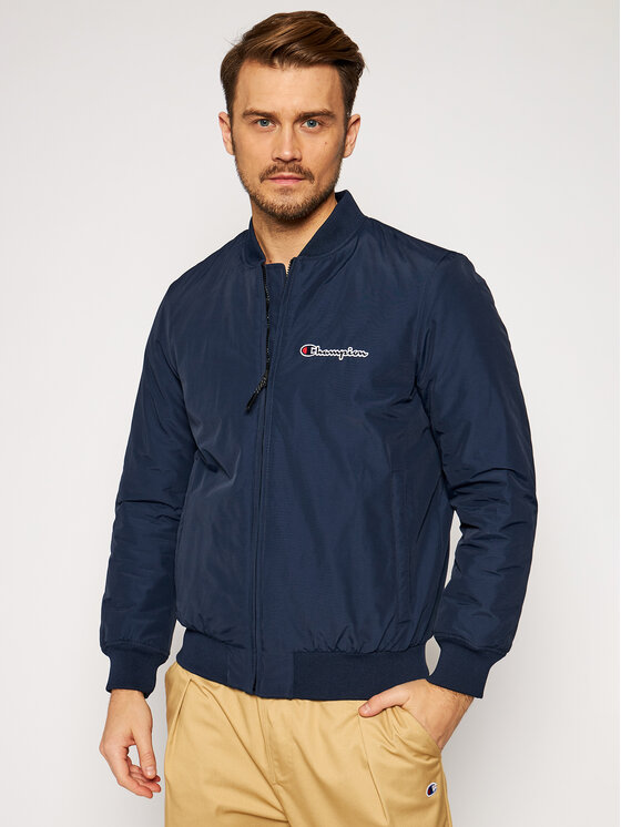 Champion Bomber striukė Trade Rochester 214892 Tamsiai mėlyna Regular Fit