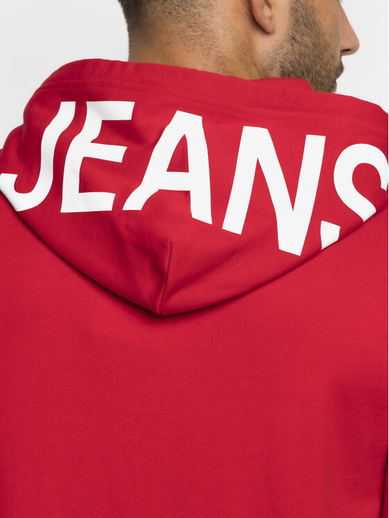 Calvin Klein Jeans Calvin Klein Jeans Džemperis J30J312814 Raudona Regular Fit