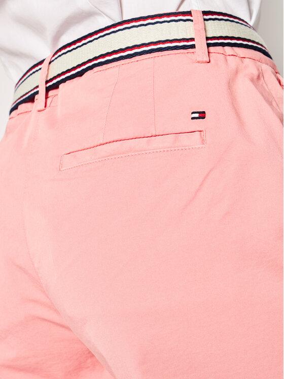 Tommy Hilfiger Tommy Hilfiger Medžiaginiai šortai GMD WW0WW27634 Rožinė Slim Fit