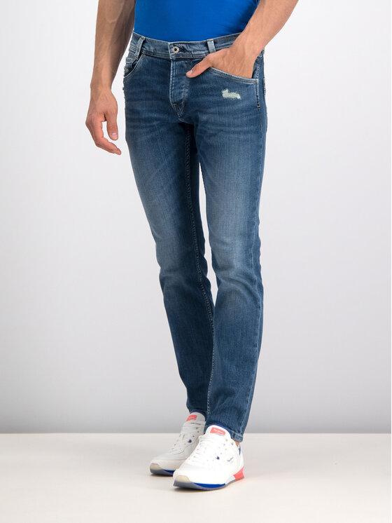Pepe Jeans Pepe Jeans Jeansy Regular Fit PM200029GR72 Niebieski Regular Fit