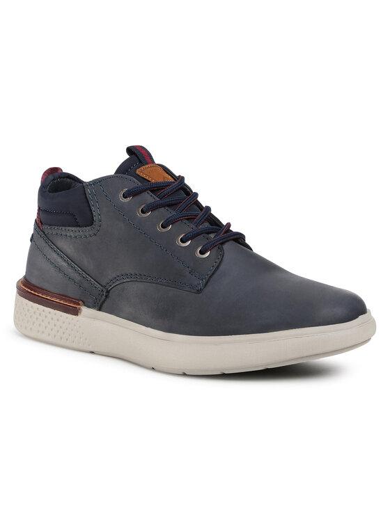 Wrangler Auliniai batai Discovery Ankle WM02035A Tamsiai mėlyna
