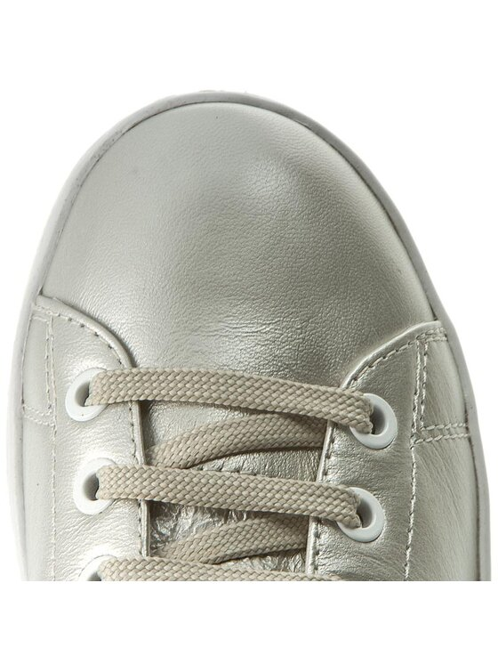 Geox Geox Sneakersy D Jaysen A D621BA 000BV C2010 Strieborná