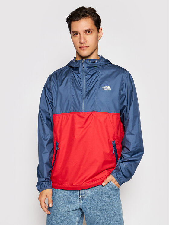 The North Face Anorak stiliaus striukė Cyclone NF0A5A3HY251 Tamsiai mėlyna Regular Fit