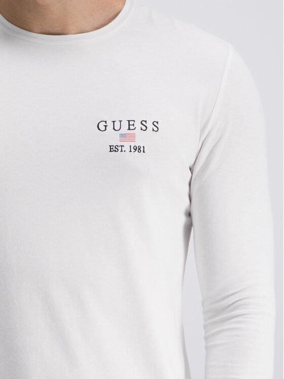 Guess Guess Halat M93I24 J1300 Alb Slim Fit
