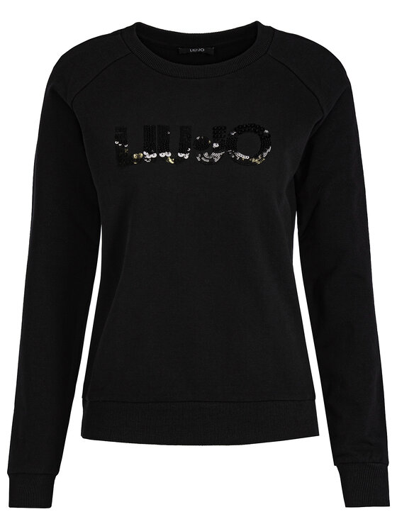 Liu Jo Sport Liu Jo Sport Sweatshirt T69168 F0789 Schwarz Regular Fit