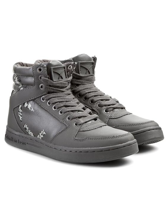 Calvin Klein Jeans Calvin Klein Jeans Sneakersy Perico SE8275 Sivá