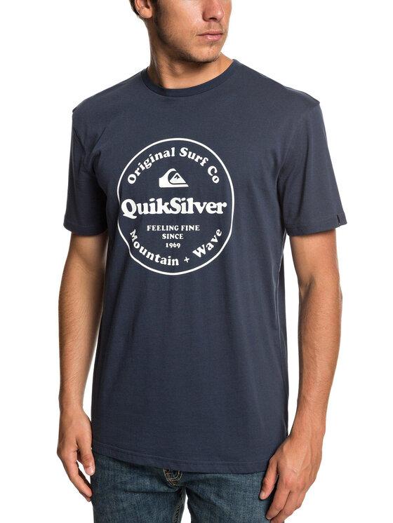 Quiksilver Quiksilver Tričko EQYZT05265 Tmavomodrá Regular Fit