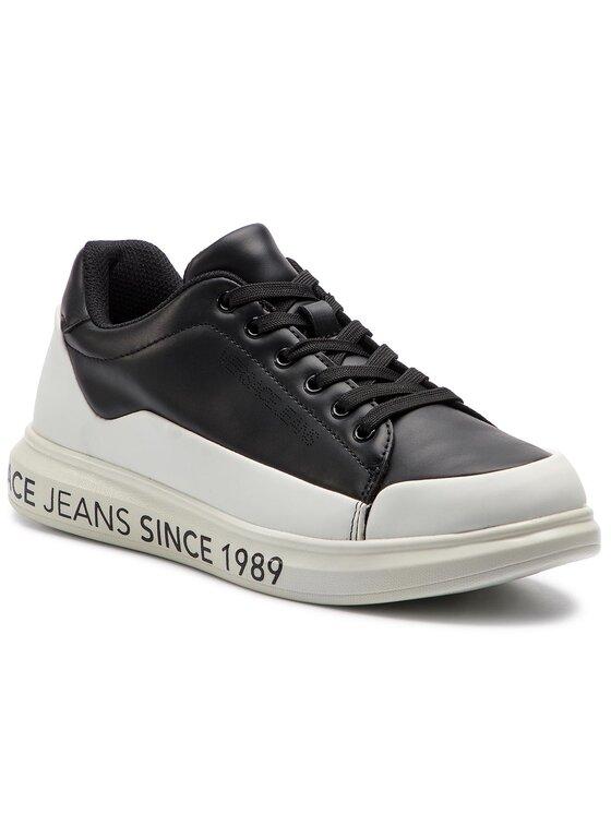 Versace Jeans Versace Jeans Laisvalaikio batai E0YTBSN1 Juoda